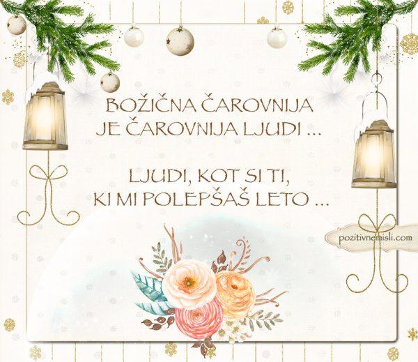 ČAROBNI BOŽIČ - Božična čarovnija