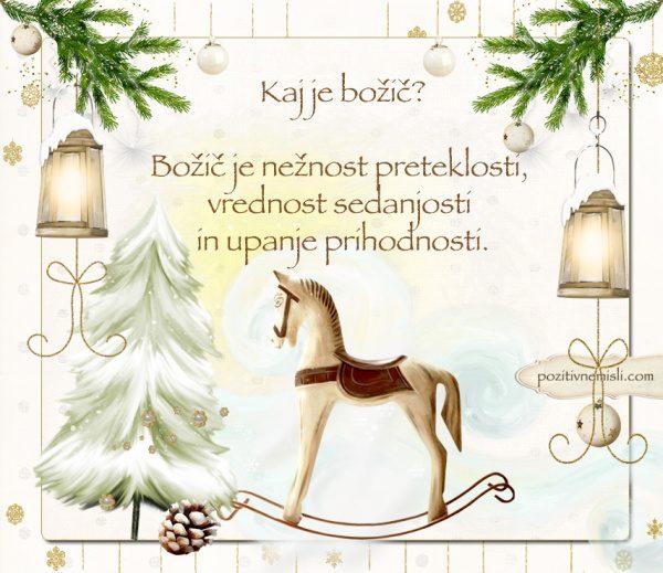 ČAROBNI BOŽIČ - Kaj je božič?
