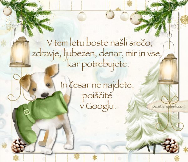 Čarobni božič -  V tem letu boste našli srečo