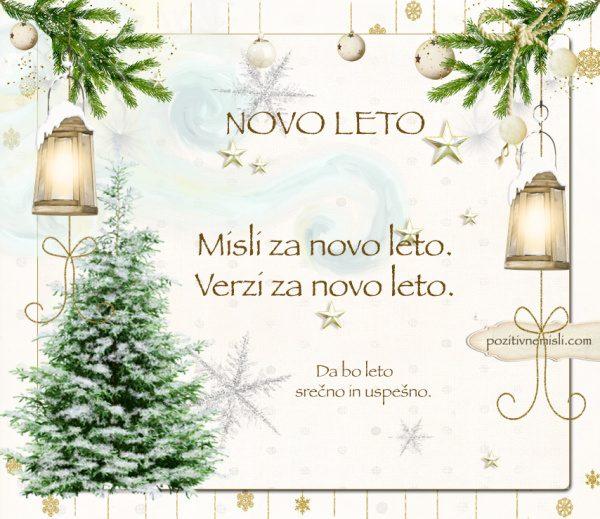 Čarobni božič - MISLI ZA NOVO LETO - VERZI za novo leto