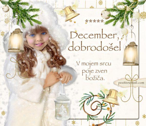 December - dobrodošel