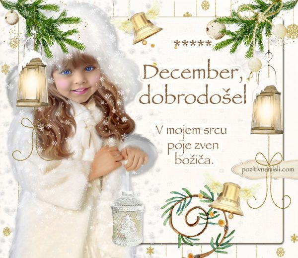 Čarobni božič - December - dobrodošel - adventni koledar