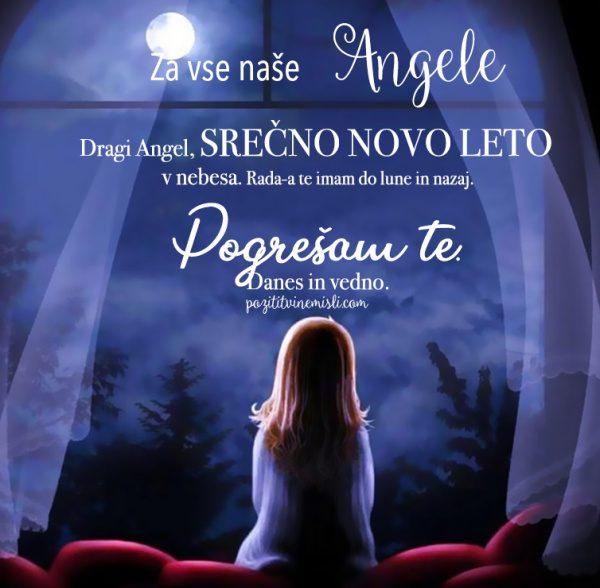 Dragi Angel, srečno novo leto