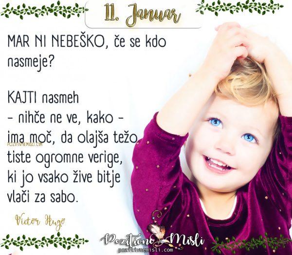 11. januar - Mar ni nebeško ...