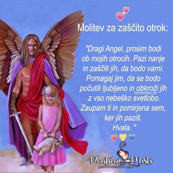Molitev za zaščito otrok ...