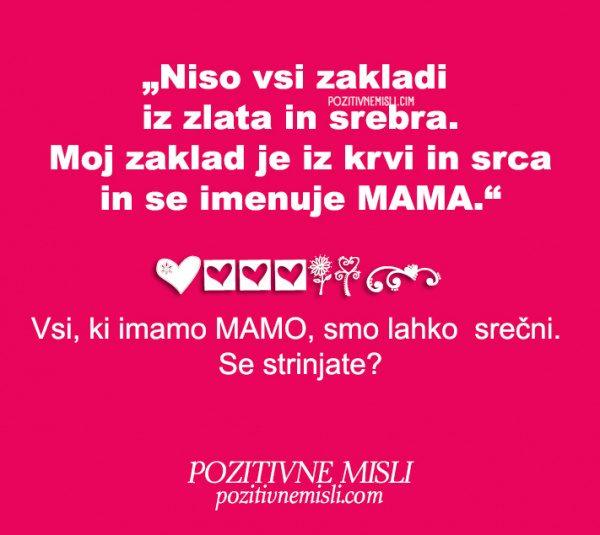 Misli o mami