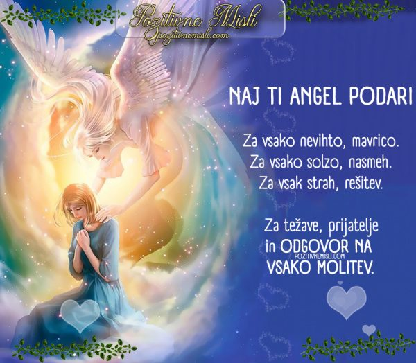 NAJ TI ANGEL PODARI