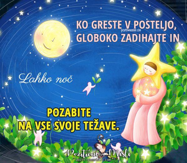 LAHKO NOČ - želim ti lepe sanje in mirno noč
