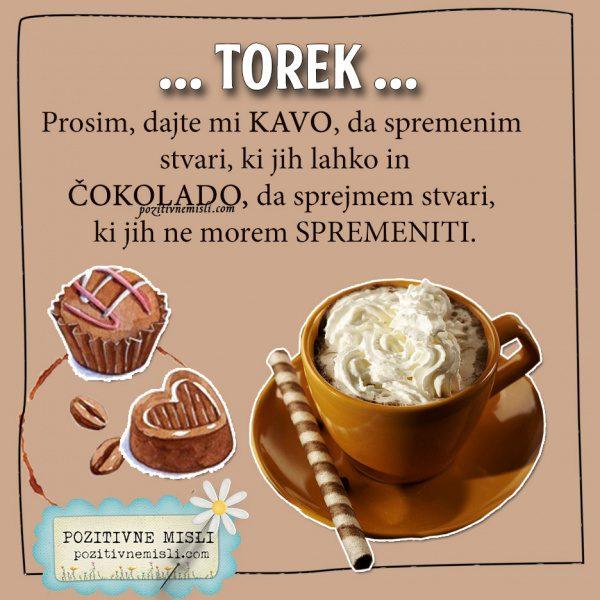 TOREK - Prosim, dajte mi kavo