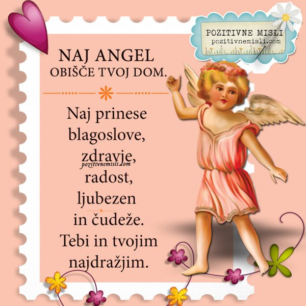 Dragi Angel, prosim ...