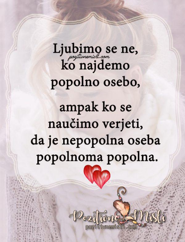 Misel o ljubezni