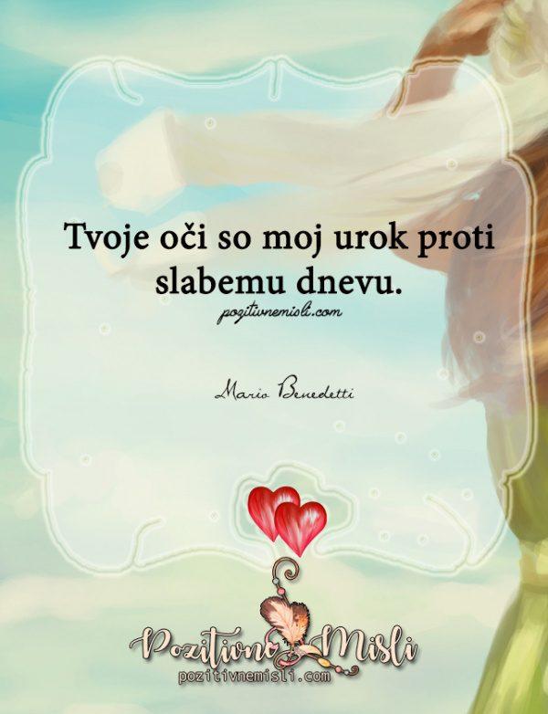 Misli o ljubezni  - Tvoje oči so  ...