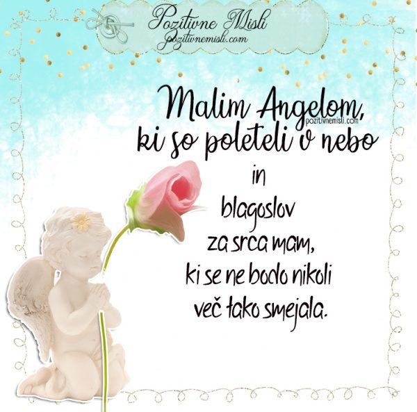 Malim Angelom v spomin