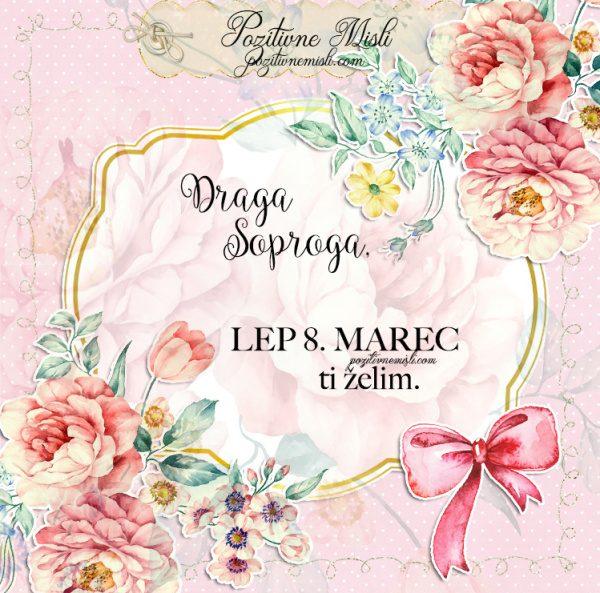 DRAGA ŽENA  - voščila za 8. marec
