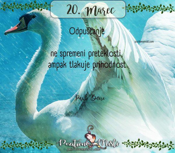 20. marec - 365 lepih misli za vsak dan