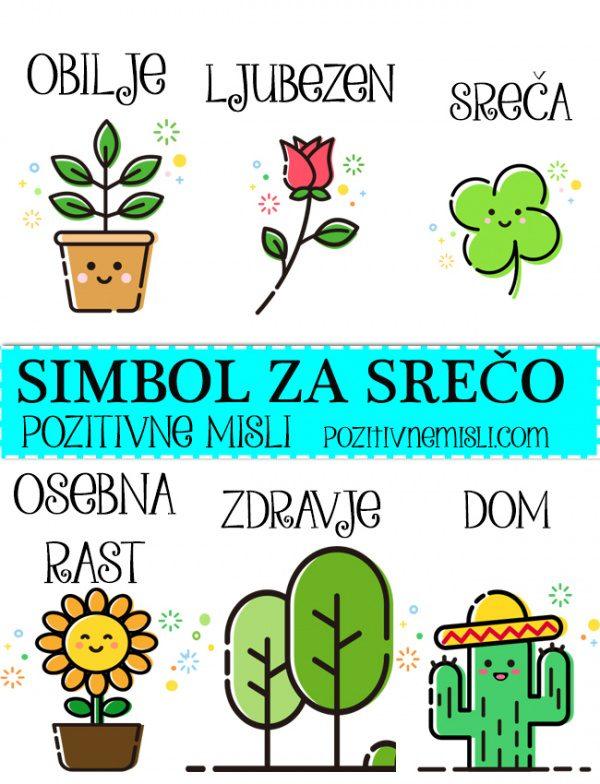 SIMBOL SREČE - izberi svoj simbol