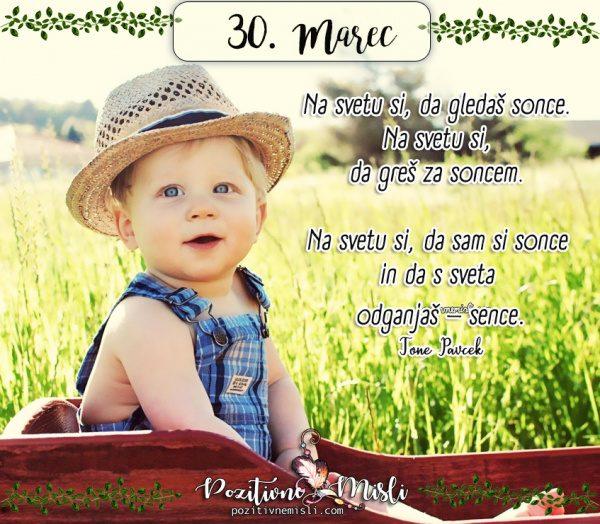 30. marec -  365 najlepših misli za vsak dan