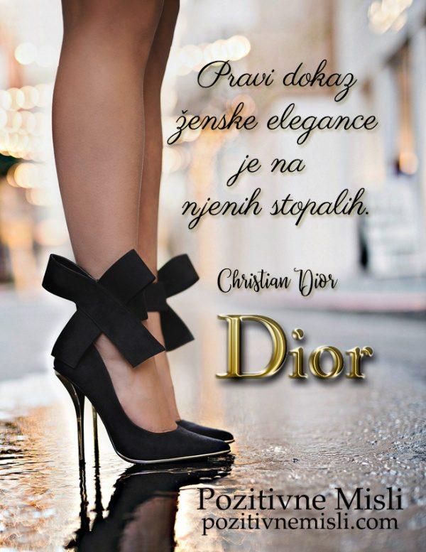Pravi dokaz  ženske  -  Christian Dior
