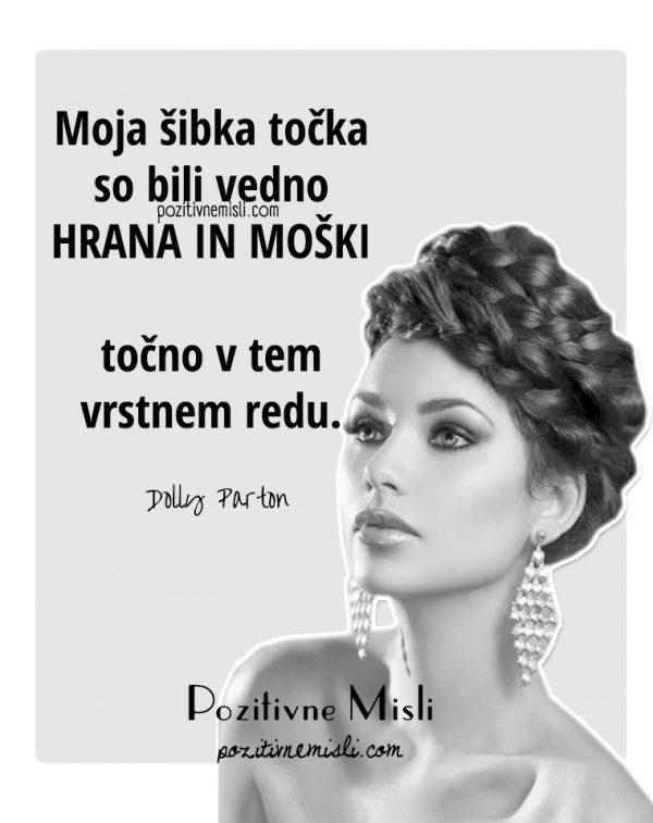 Misli in citati  – Dolly Parton