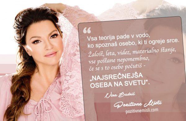 Nina Badrić - misli in citati