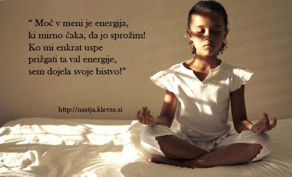Moč v meni je energija