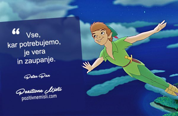 Walt Disney citati -  Peter Pan