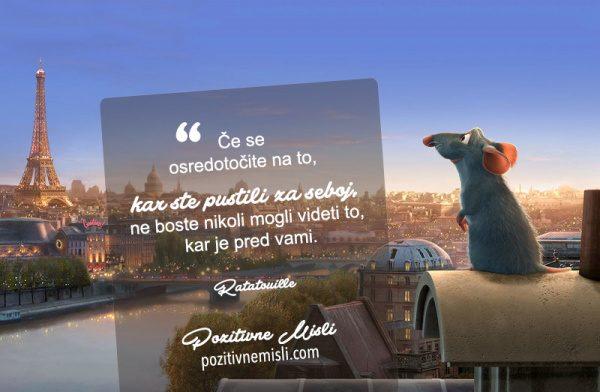 Ratatouille - Walt Disney citati in misli
