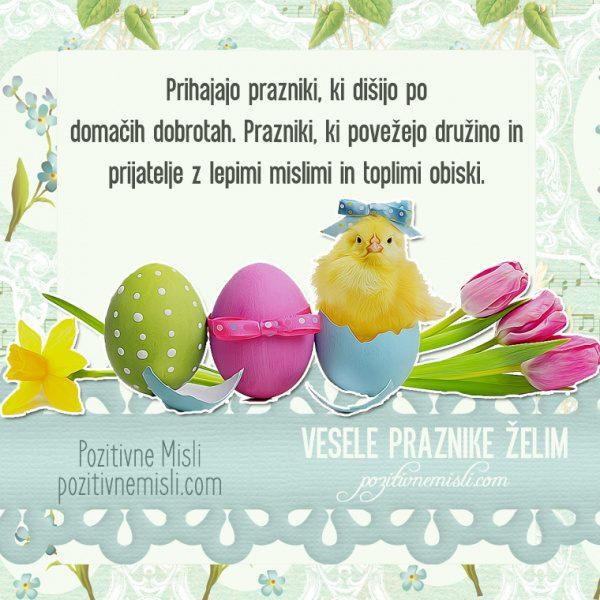 Vesele velikonočne praznike