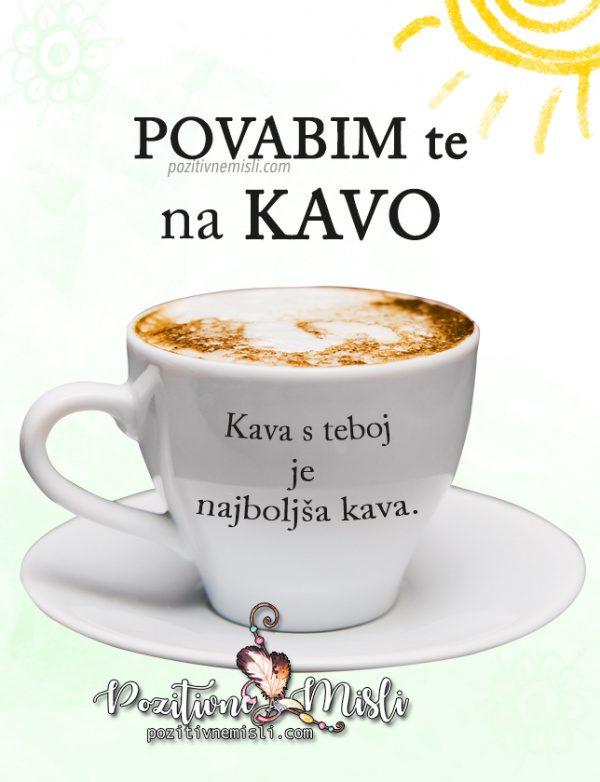 Povabim te na kavo