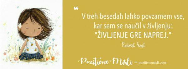 Misli o življenju -  Robert Frost