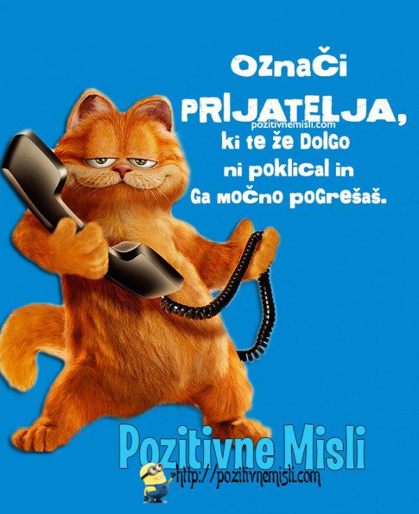 Označi prijatelja - telefonski klic