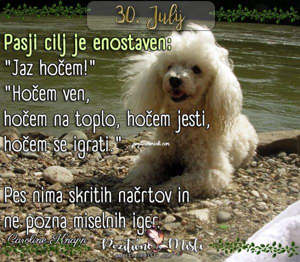 30. julij - 365 misli za vsak dan