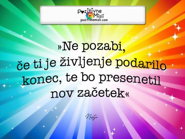 Pozitivne Misli o življenju - Ne pozabi