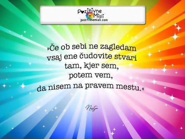 Pozitivne Misli o življenju - Čudovite stvari