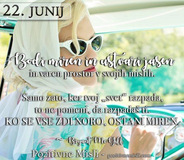 22. junij - 365 misli