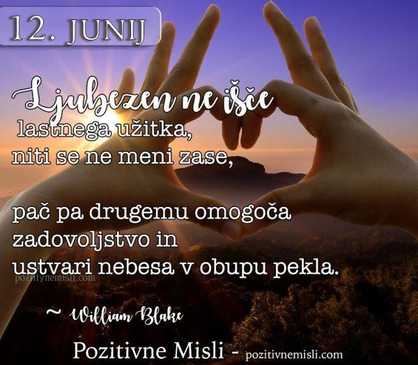 12. junij - 365 misli za vsak dan