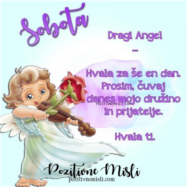 SOBOTA - prošnja Angelom