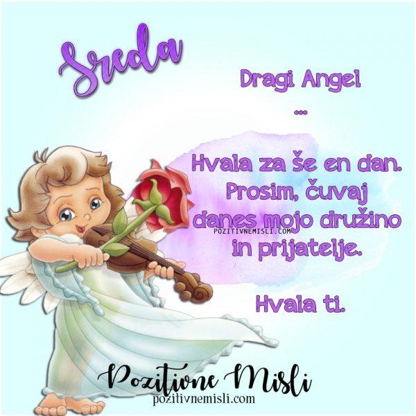 SREDA - prošnja ANGELOM