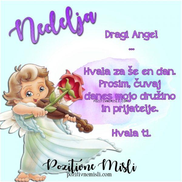 NEDELJA - prošnja ANGELOM