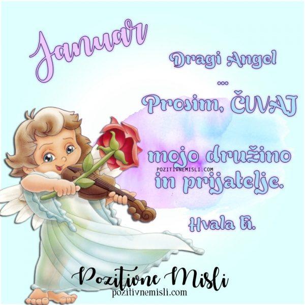 Januar - prošnja ANGELOM