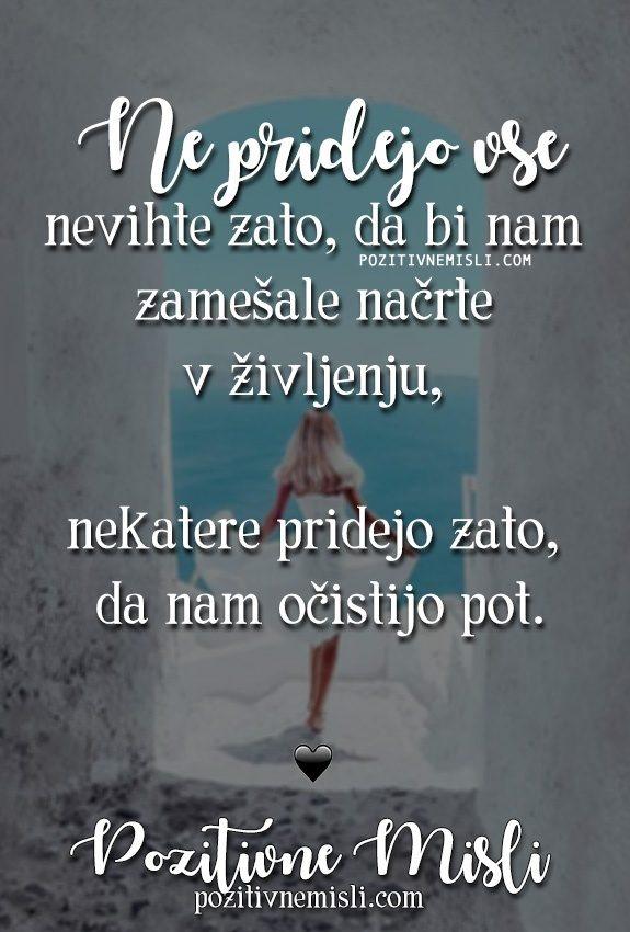 Misli o življenju ~ Ne pridejo vse nevihte 🐋💎⛅