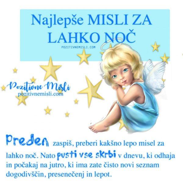 NAJLEPŠE MISLI ZA LAHKO NOČ -1