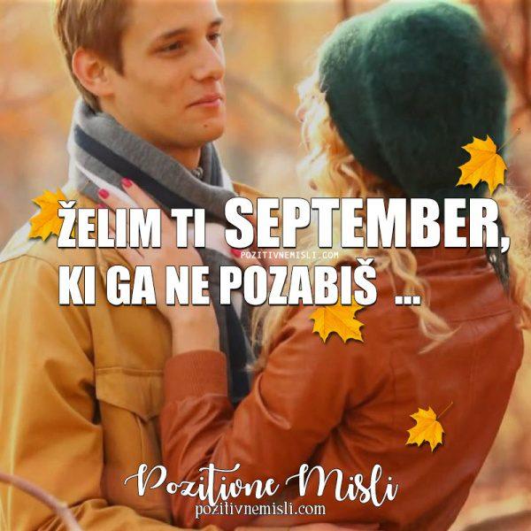 Želim ti  September ...