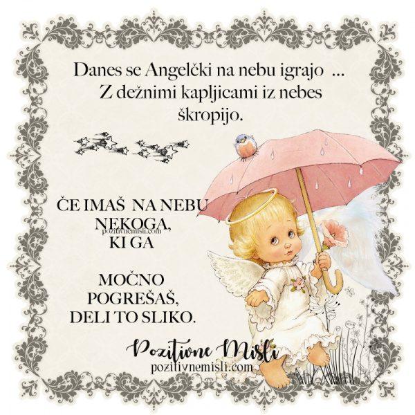 Žalne misli - Sožalja - Danes se angeli