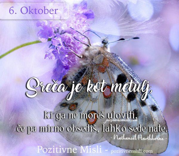 6. oktober - 365 misli za vsak dan