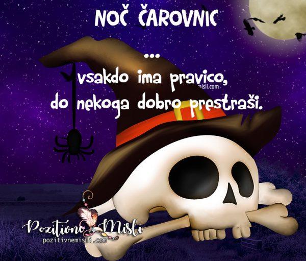 Noč čarovnic ...