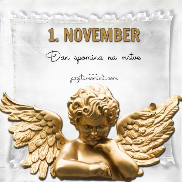 1. NOVEMBER - Dan spomina na mrtve ali dan mrtvih