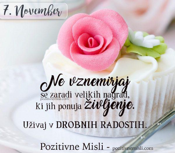 7. NOVEMBER - 365 MISLI - Ne vznemirjaj se