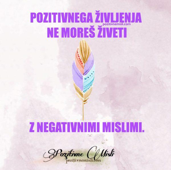 Pozitivnega življenja  ...