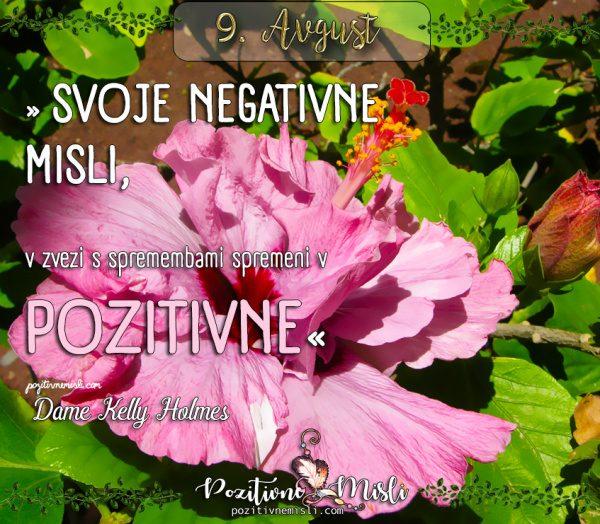 9. avgust - 365 misli za vsak dan